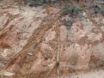 Citronelle Formation displaying Fractures (Holmes County)