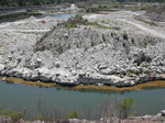View of Pit at Langston Quarry (Franklin County), April 2002