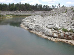 View of Pit at Langston Quarry