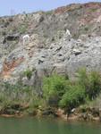 Langston Quarry (Franklin County), April 2002