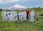 Dye Trace Team, Porter Hole Sink August 2021