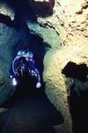 Hart Springs Cave - Upstream of Black Lagoon Sink