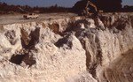 Solution pipes in Ocala Limestone (Nov. 1984)