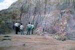 Torreya Formation; Near Torreya State Park