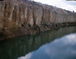 Suwannee Ocala contact at Mayo quarry