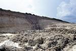 Paleosinkhole in Ocala Limestone, Mid Florida Mining
