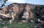 Taff Qy, Wakulla Co. Torreya Fm Pinnacles + overlying Sds + cly sds KMC