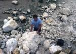 Willeston Boulders at E.R. Jahna Pit