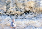 Bernie Murochick at Dolime Pit, Barge Canal; Avon Park fm
